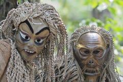 Фестиваль дня предшественника племени Mah Meri Стоковая Фотография RF