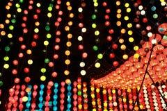 Фестиваль освещения лампы Стоковые Изображения RF