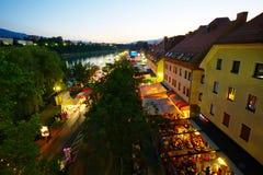 Фестиваль одолженный в Мариборе стоковые фото