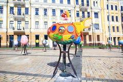 Фестиваль пасхального яйца в Киеве, Украине Стоковое фото RF