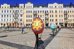 Фестиваль пасхального яйца в Киеве, Украине Стоковые Изображения