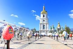 Фестиваль пасхального яйца в Киеве, Украине Стоковые Изображения RF