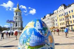 Фестиваль пасхального яйца в Киеве, Украине Стоковые Фото