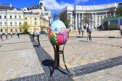 Фестиваль пасхального яйца в Киеве, Украине Стоковое Изображение