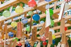 Фестиваль перезвона ветра святыни Kawagoe Hikawa стоковое фото rf