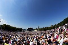 Фестиваль 2014 песни Laulupidu Стоковое фото RF