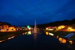 Фестиваль пива и цветка в Laško, Словении стоковое фото rf