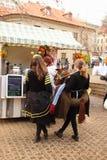 Фестиваль Прага 2017 еды Стоковые Изображения