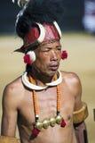 Фестиваль птицы-носорог Nagaland, Индии Стоковое фото RF