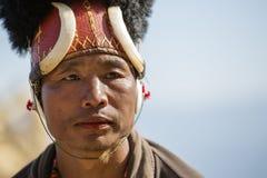 Фестиваль птицы-носорог Nagaland, Индии Стоковая Фотография RF