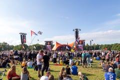 Фестиваль 2016 Роскилле - оранжевый концерт этапа стоковая фотография rf