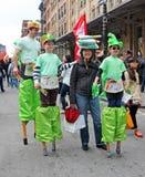 Фестиваль семьи Tribeca Стоковые Фотографии RF