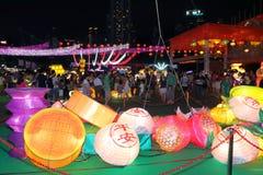 Фестиваль 2013 Средний-осени Гонконга Стоковое Изображение RF