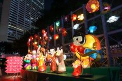 Фестиваль 2013 Средний-осени Гонконга Стоковые Фото
