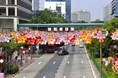 Фестиваль Средний-осени Чайна-тауна Стоковое Изображение