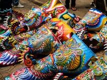 Фестиваль танца призрака Стоковая Фотография