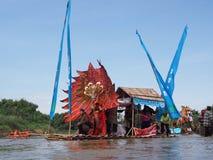 Фестиваль торжества Bengawan сольный стоковые фотографии rf