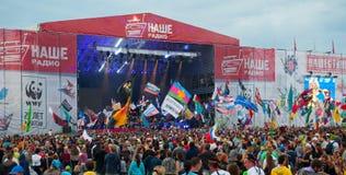 Фестиваль утеса Стоковая Фотография RF