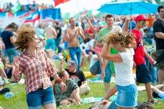 Фестиваль утеса Стоковые Фотографии RF