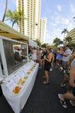 Фестиваль улицы Waikiki Стоковые Фотографии RF