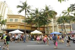 Фестиваль улицы Waikiki Стоковые Изображения RF