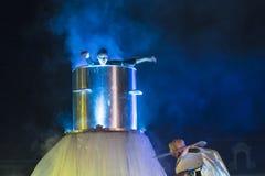 Фестиваль уличного театра в Кракове Стоковое Изображение RF