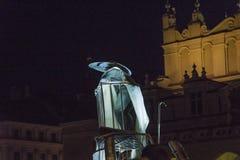 Фестиваль уличного театра в Кракове Стоковые Фото