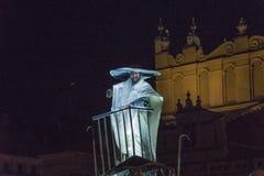 Фестиваль уличного театра в Кракове Стоковые Фотографии RF