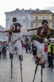 Фестиваль уличного театра Стоковое Фото