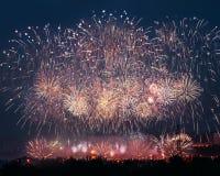 Фестиваль фейерверка Стоковая Фотография RF