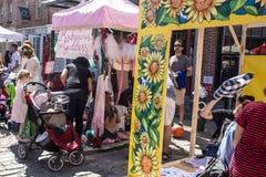 Фестиваль фермы свежий для детей NYC 2016 Стоковые Изображения RF