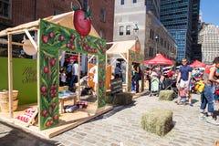 Фестиваль фермы свежий для детей NYC 2016 Стоковое Изображение