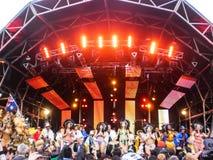Фестиваль фиесты гавани милочки стоковая фотография