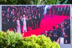 Фестиваль фильмов 2017 Канн Стоковое Изображение