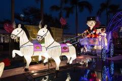 Фестиваль фонарика весны в Гонконге Стоковое Изображение