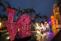 Фестиваль фонарика весны в Гонконге Стоковая Фотография RF