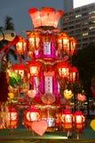 Фестиваль фонарика весны в Гонконге Стоковые Изображения RF