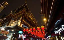 Фестиваль фонарика в китайском Новом Годе. 16-ое февраля 2014 Стоковое фото RF