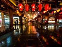 Фестиваль фонарика в китайском Новом Годе. 16-ое февраля 2014 Стоковые Фотографии RF