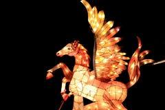 Фестиваль фонарика, Тайбэй, Тайвань Стоковая Фотография RF