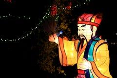 Фестиваль фонарика, Тайбэй, Тайвань Стоковое Фото