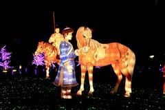 Фестиваль фонарика, Тайбэй, Тайвань Стоковое фото RF