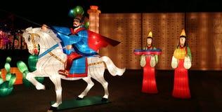 Фестиваль фонарика, Чэнду, Китай в 2015 Стоковое Изображение RF