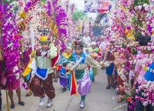 Фестиваль цветка & ладони в Panchimalco, Сальвадоре Стоковые Фотографии RF