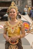 Фестиваль цветка Чиангмая Стоковое фото RF