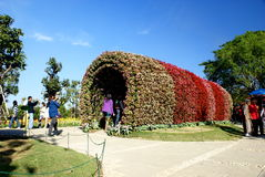 Фестиваль цветка Chiang Rai Стоковое Изображение RF