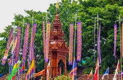 Фестиваль штендера города Inthakin Стоковые Изображения