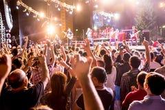 Фестиваль этнической музыки Forey Стоковые Фотографии RF