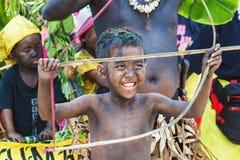 Фестиваль ATI-Atihan на Boracay, Филиппинах Отпразднованное каждое Стоковая Фотография