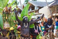 Фестиваль ATI-Atihan на Boracay, Филиппинах Отпразднованное каждое Стоковые Фотографии RF